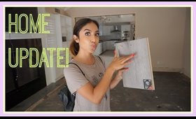 New Home Update: Picking out Flooring, Kitchen re-design and More!