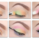 How to: Colorful Makeup