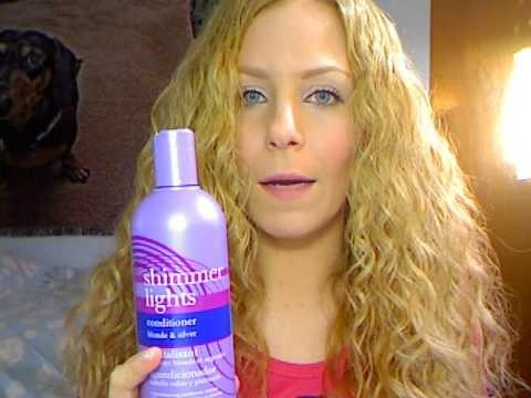 Clairol Shimmer Lights Conditioner Blonde Hair Review