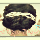 French Rope Braid Twist For Medium Long Hair