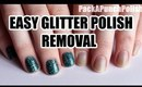 How To Remove Glitter Nail Polish Quick and Easy Tutorial