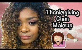 Thanksgiving Glam Makeup