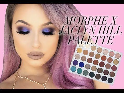 Morphe X Jaclyn Hill Palette Tutorial Review Ashley W Video