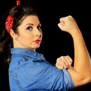 Brat The Riveter Pinup
