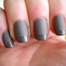 Mix glossy tips with a matte base for multi-textured nails!