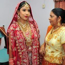 East Indian Bride and Mother of the Bride