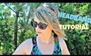 Hair Tutorial: Twisted Wrapped Infinity Headband Heatless Hairstyle