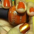 Totally Fall Nails.