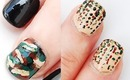 Halloween Nail Art: Camouflage Nails 2 ideas