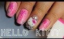 Hello Kitty Winter Nail Tutorial