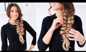 Faux Fishtail Braid | Luxy Hair