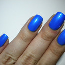 31 Day Challenge - Blue Nails - 04. DAY