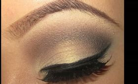Everyday Light Golden Brown Smokey Eye