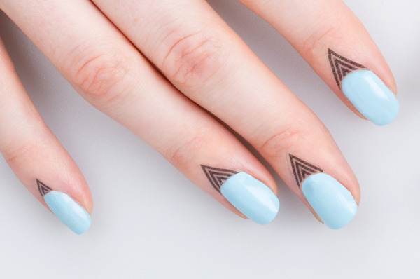 Cuticle Tattoos! A New Way To Dress Up Your Nails