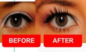 How To Fake Longer Eyelashes