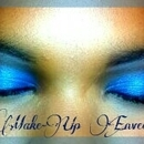 Make-Up Envee: Blue  Eye Shadow
