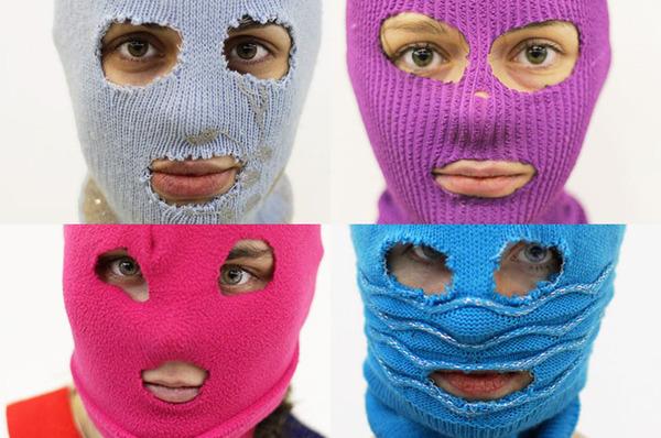 Beauty Riot! Makeup or … Ski Mask?