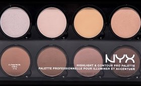 NYX Highlight & Contour Pro Palette REVIEW