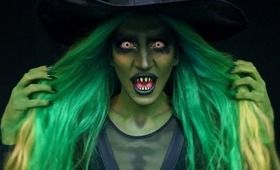 Wicked Witch Make Up Tutorial