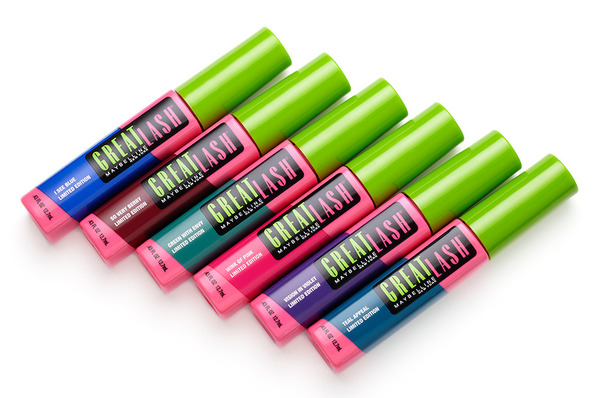Get 'Em Now! Maybelline Great Lash Colored Mascaras