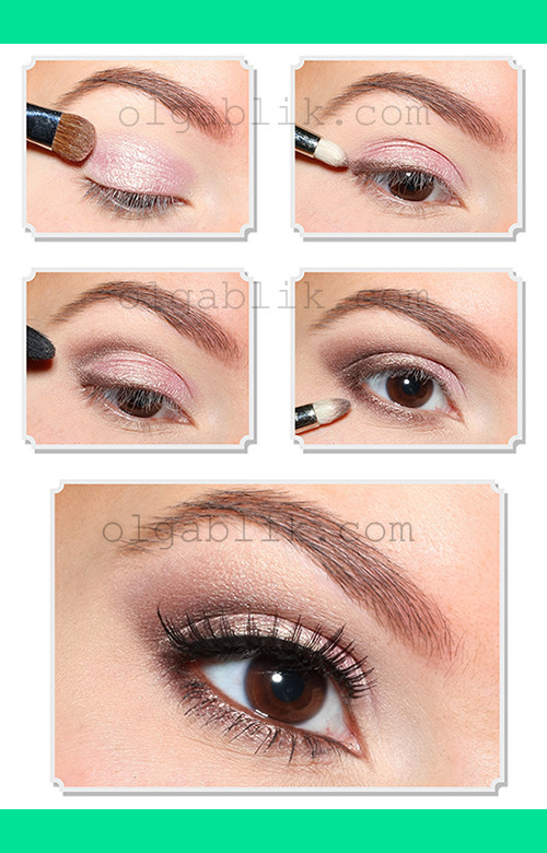 to how (olgablik)   makeup makeup  on eyes for brown Tutorial Up  Make B.'s put Photo  Olga Everyday natural