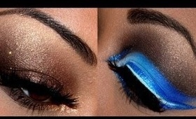 For My Wailea - Smokey Bronze & Blue Brown Cut Crease Tutorial!