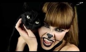 Cat Halloween Make up