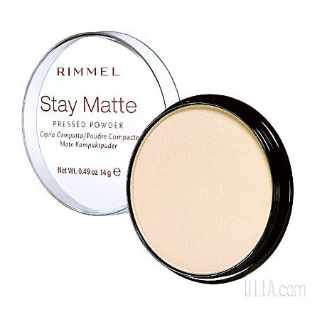 how to apply rimmel stay matte pressed powder