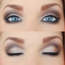 Beautiful Brown Smokey Eyes