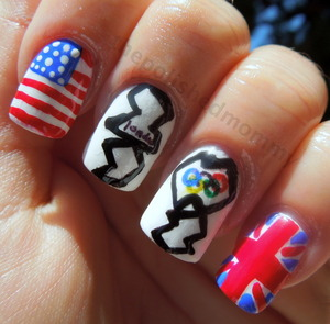 Products used and more pictures:http://www.thepolishedmommy.com/2012/07/let-games-begin.html#