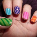 Rainbow Candy Stripes