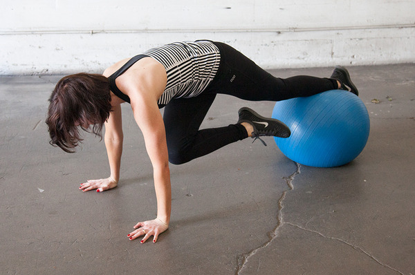 Advanced Core Work on the Exercise Ball