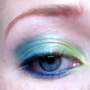 Victorian Disco Blues & Greens