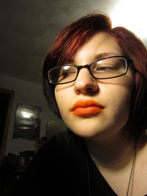OCC Lip Tar in Beta (Swatching)