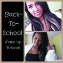 Back to school make up tutorial