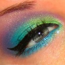 New Years colorful eye!