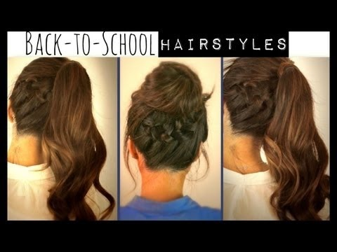 Brilliant Straight Braided Hairstyle  Medium Hairstyles For School