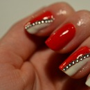 Red With Diamonds