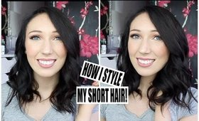 How I Style My Short Hair! | Chloe Luckin