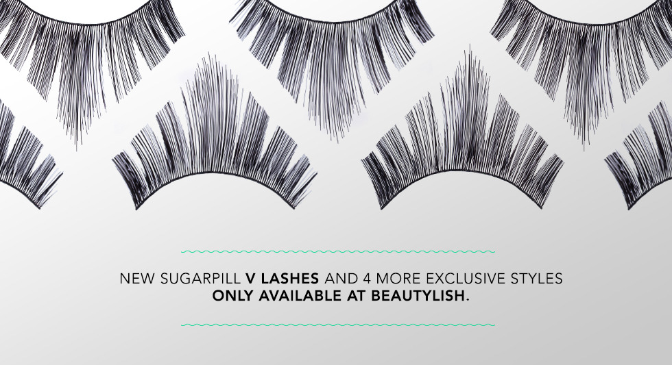 New Sugarpill V Lashes and 4 more exclusive styles at Beautylish