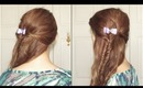 Glamorous Half Up Fishtail Braid