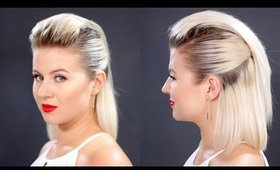 Slicked Back Hair For Short Hair Tutorial | Milabu