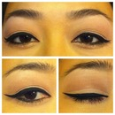 Nude Eyeliner & Cat Eye.