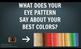 Eye Anatomy, Color Analysis & Best Colors for Your Hair, Makeup, Clothing | Cool vs Warm Skin Tones