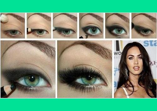 Как красить глаза с нарощенными ресницами пошагово