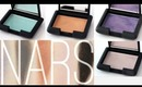 NARS Cream Eyeshadow Swatches 7 colors
