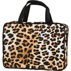 Celebrity Cheetah Cosmetic Bag