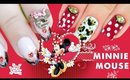 Disney Minnie Mouse Nail Art Collab with I'mGirlYouDon'tKnow