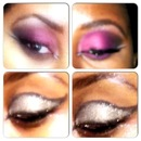 Eygyptian smokey eye and sparkle