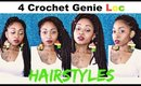 4 EASY Crochet Method  Faux Loc Hairstyles (Step by Step HD Video)